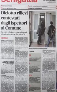 Corriere Adriatico 22 ottobre 2016