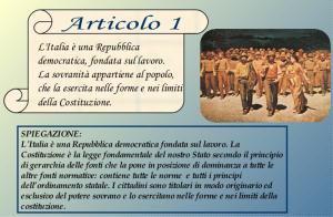 Art 1 Costituzione